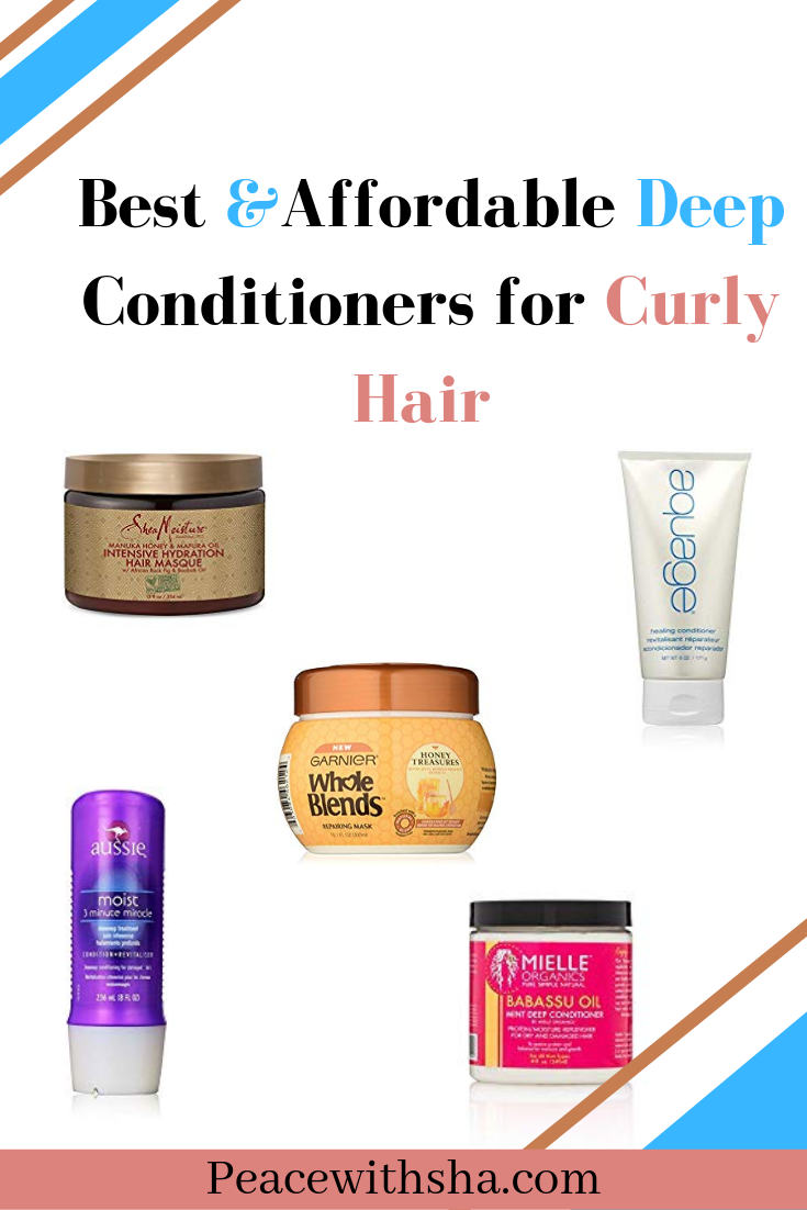 Best Deep Conditioners for Curly and Textured Hair